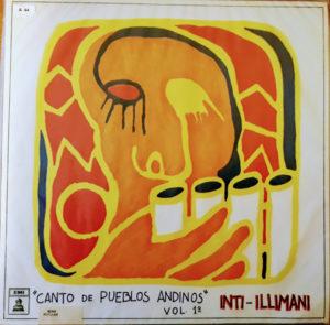 Compra venta disco vinilo Inti Illimani – Canto de Pueblos Andinos Vol folklore sudamérica