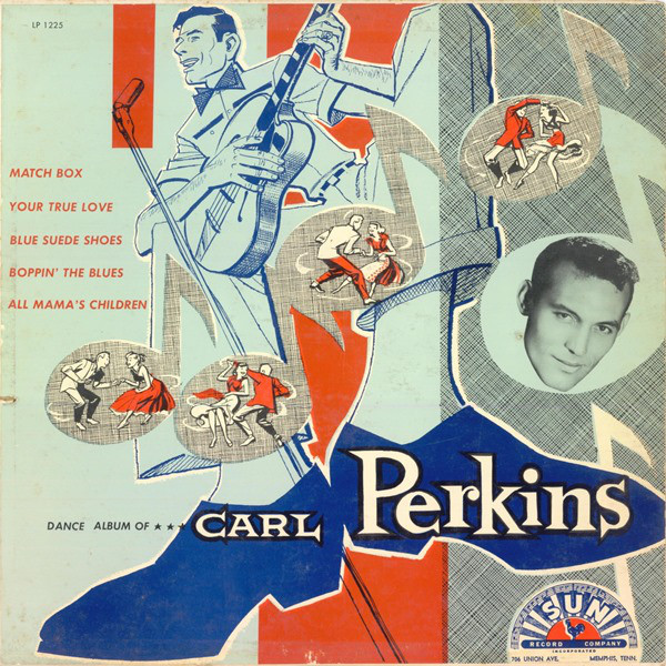 "Vender discos de vinilo de R ""n"" R como Carl Perkins: Dance Album Of Carl Perkins /Barcelona"