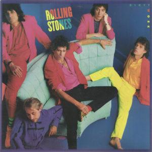 www.comprodisco.com == Compro Discos vinilo de Rock como Rolling Stones: Dirty Work /Barcelona