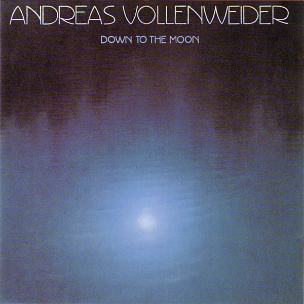 Vender discos de vinilo de la New Age como Andreas Vollenweider: Down To The Moon /Barcelona
