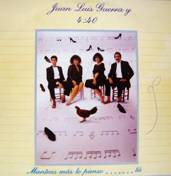 Compra Venta discos de vinilo Merengue como Juan Luis Guerra Y 4:40: Mientras Mas Lo Pienso… Tú