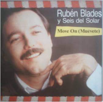 Compra venta discos maxis como Rubén Blades Y Seis Del Solar: Move On /Barcelona