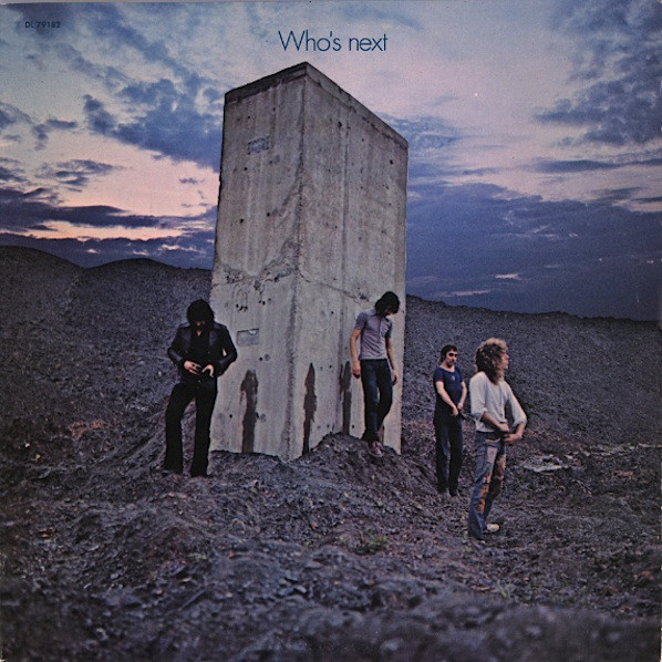 Vender discos de vinilo como The Who: Who's Next /Barcelona