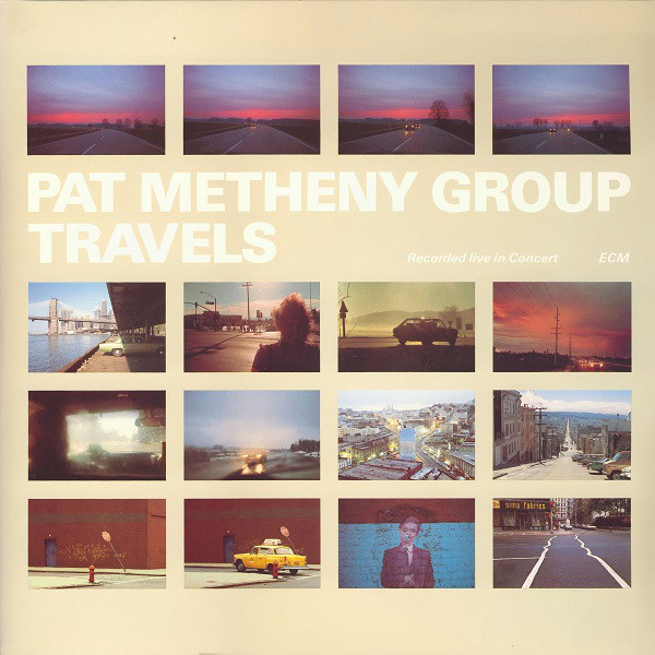 Vender discos de jazz-rock como  Pat Metheny Group: Travels /Barcelona