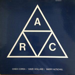 Compra venta vinilos Barcelona de jazz como Chick Corea, David Holland, Barry Altschul – A.R.C.